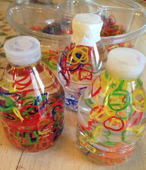 Loom-Band-Sensory-Bottle